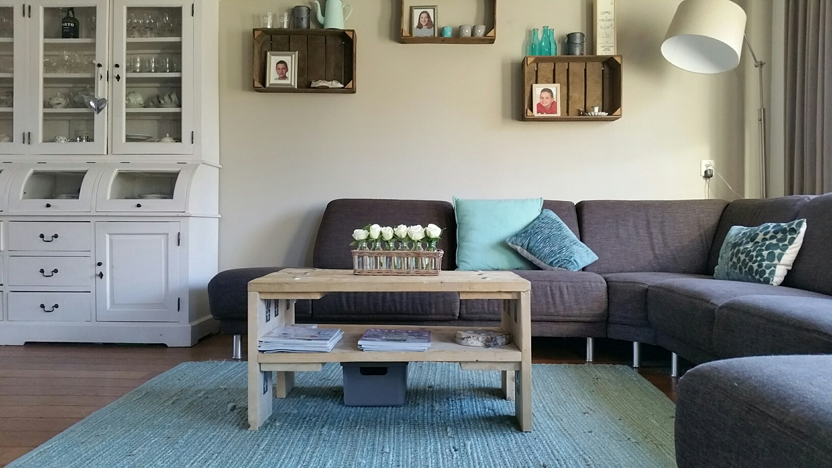 Woonkamer - Steigerhouten meubelen op maat. ROBUhout | Zeeland | Kapelle